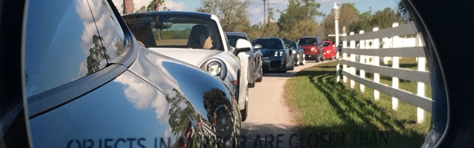 Porsches in the Rear View Feb 2019 Everglades Region PCA