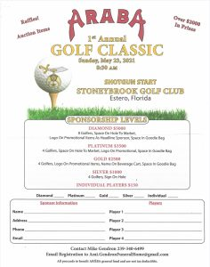 Araba Golf Classic (not a PCA event but a great cause)
